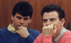 The Menendez brothers. Click image to expand.