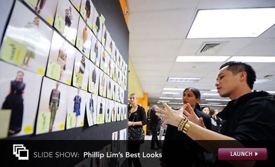 Click here to launch a slideshow on Phillip Lim.