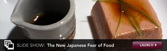 Slide Show: The New Japanese Fear of Food. Click image to launch.