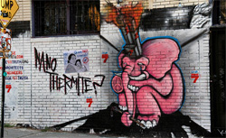 Nano Thermite? grafitti. Click image to expand.
