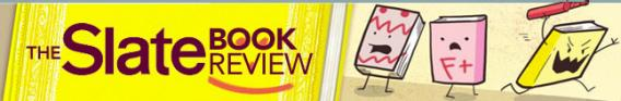 Slate Book Review logo, illustration by Laura Terry