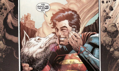 Superman's best superfriend. Action Comics No. 18 (May 2013).