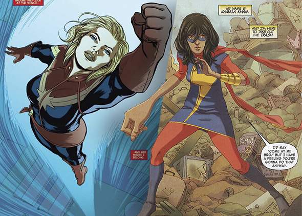 captain marvel kamala