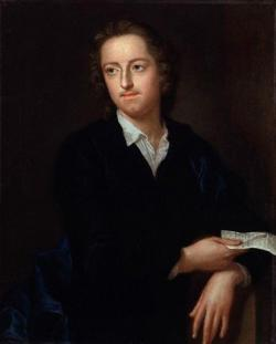 Portrait of the poet Thomas Gray.