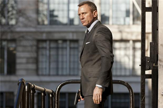 Daniel Craig stars as James Bond in SkyfallSkyfall.