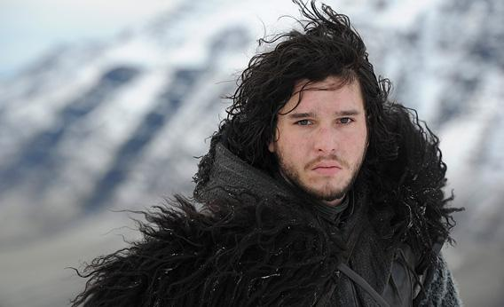 GAME OF THRONES episode 20 (season 2, episode 10): Kit Harington.