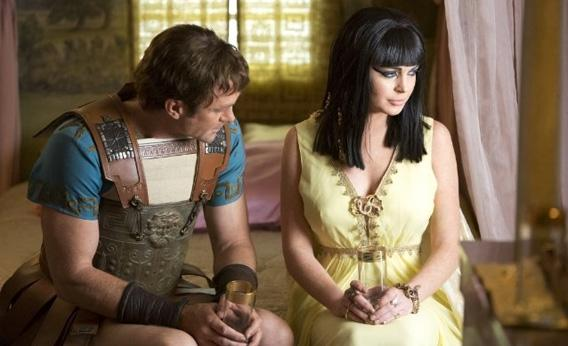 Grant Bowler and Lindsay Lohan in Liz & Dick.