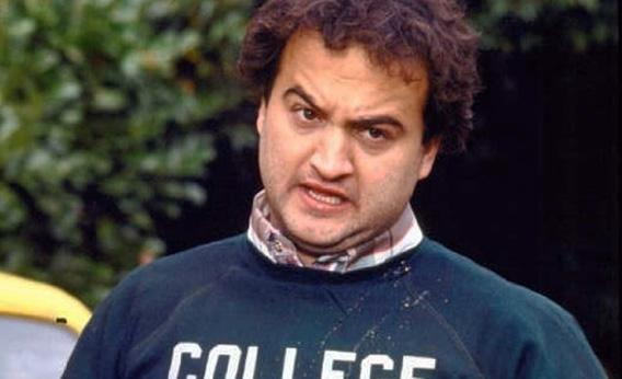 John Belushi in Animal House, 1978