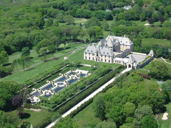 Oheka Castle today, now a resort.