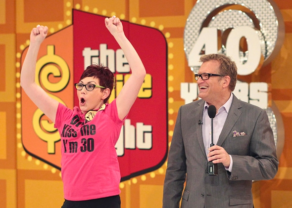 List of prizes on the price is right