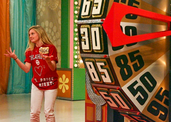 Drew Carey hosting The Price Is Right