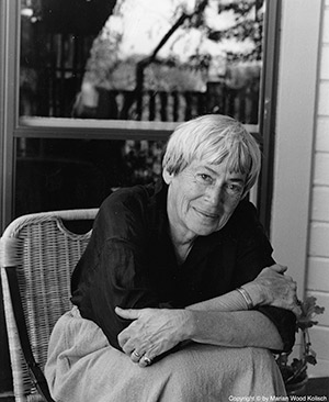 Author Ursula LeGuin.