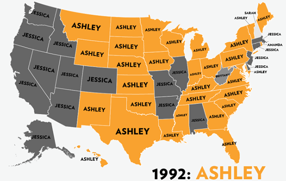 Viral Maps The Problem With All Those Fun Maps Of The US Plus - Maps us