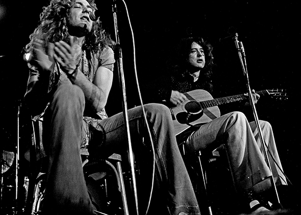 Black Slate Band : Led zeppelin how jimmy page robert plant et al