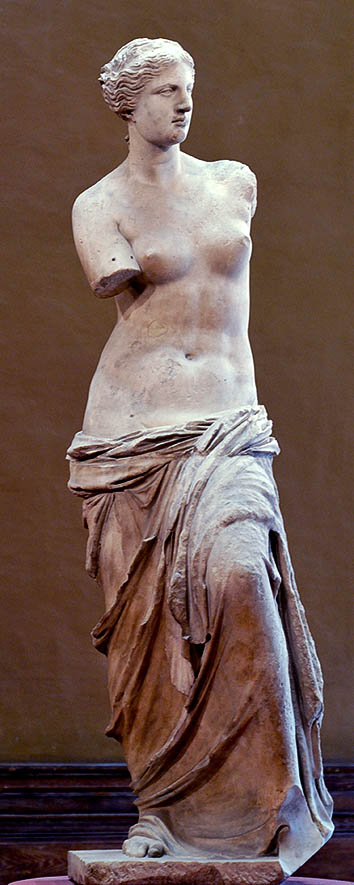The Venus de Milo's arms: 3D printing the ancient sculpture spinning thread.