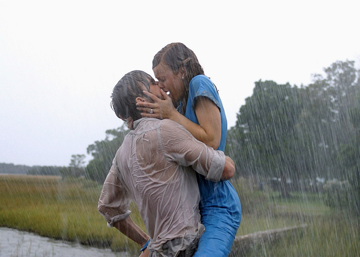 Ryan Gosling and Rachel McAdams in The Notebook, 2004.