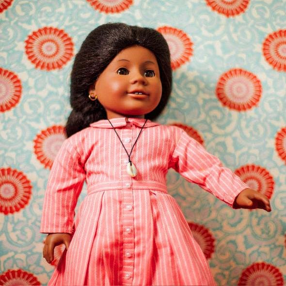 The making of Addy Walker, American Girl's first black doll.