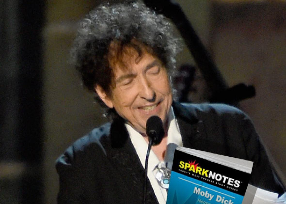 Did Bob Dylan Borrow From SparkNotes For Nobel Lecture?