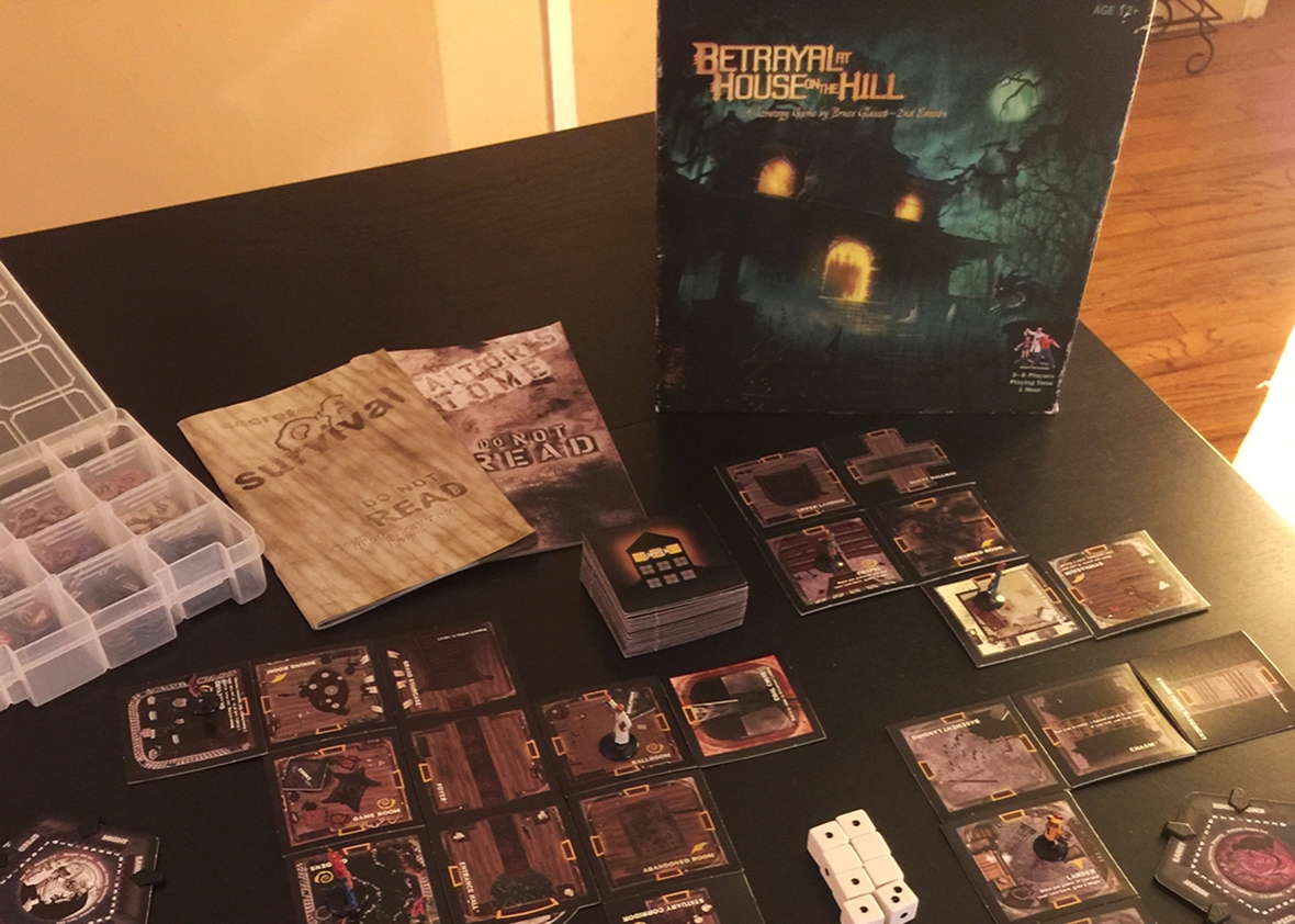 Betrayal on House on the Hill.