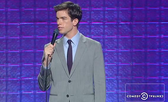 John Mulaney on Comedy Central.