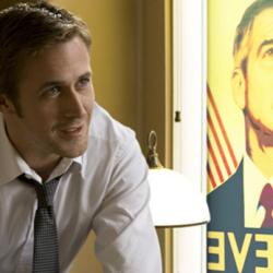 Ryan Gosling with George Clooney in Ides of March