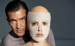 Antonio Banderas as Doctor Robert Ledgard and Elena Anaya as Vera in The Skin I Live In.