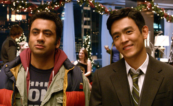 kal penn as kumar and john cho as harold in new line cinemas and mandate pictures - Harold And Kumar 3d Christmas