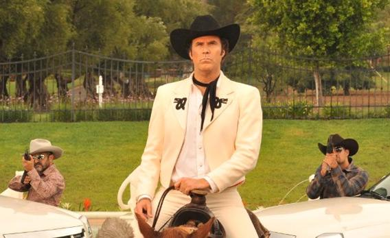 "Still of Will Ferrell and Diego Luna in ""Casa de mi Padre."""