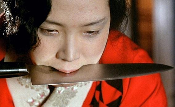 "Eiko Matsuda in ""The Realm of The Senses""."