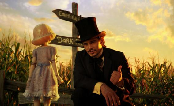 China Girl, voiced by Joey King and Oz, played by James Franco.