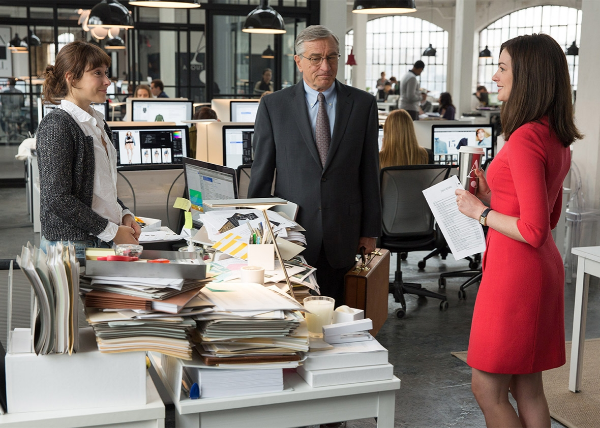the intern with robert de niro and anne hathaway directed by nancy