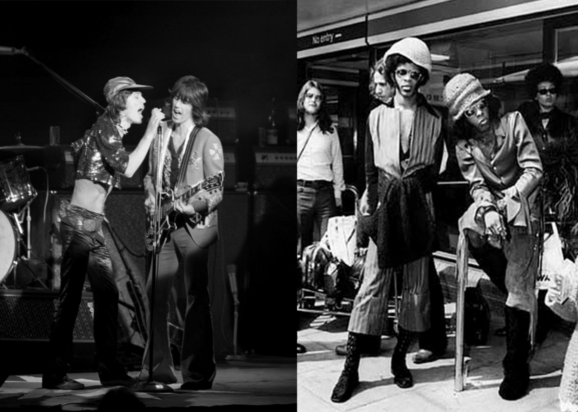 Rolling Stones and Sly and the Family Stone.