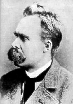 German philosopher Friedrich Nietzsche.