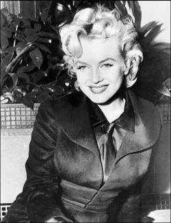 Undated file photo shows US actress Marilyn Monroe a few weeks before she died in 05 August, 1962.