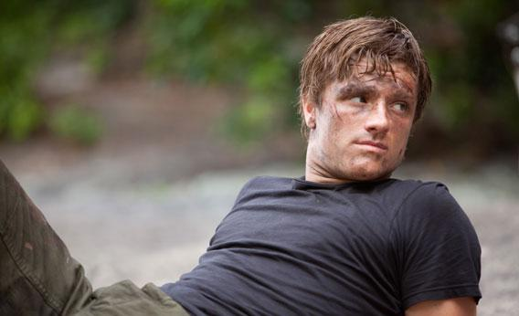 Josh Hutcherson stars as 'Peeta Mellark' in THE HUNGER GAMES.