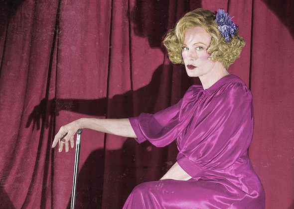 Jessica Lange as Elsa Mars in American Horror Story: Freak Show