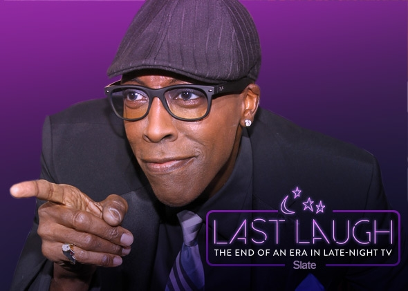 Actor Arsenio Hall