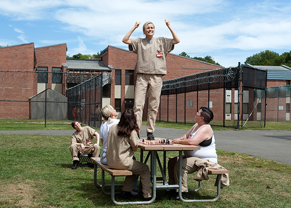 Orange Is The New Black Season 3 Set Design Michael Shaw On How The Show Evokes The Claustrophobia Of Prison