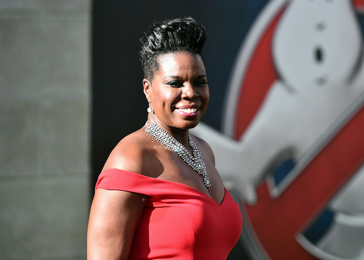 Actress Leslie Jones at the Ghostbusters premiere on July 9 in Hollywood, California.