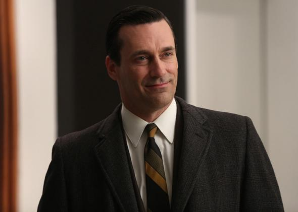 Jon Hamm as Don Draper in Mad Men.