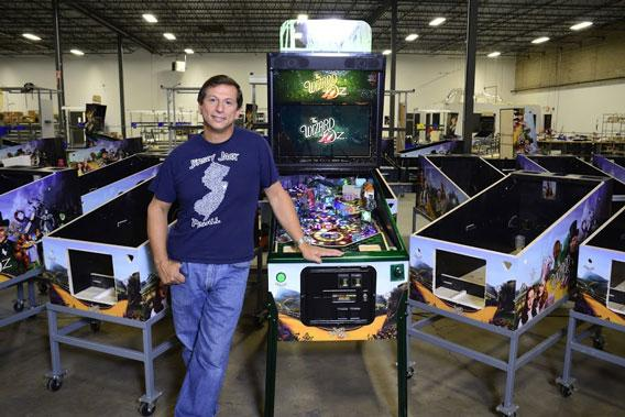 Can Jack Guarnieri and the Wizard of Oz save pinball?
