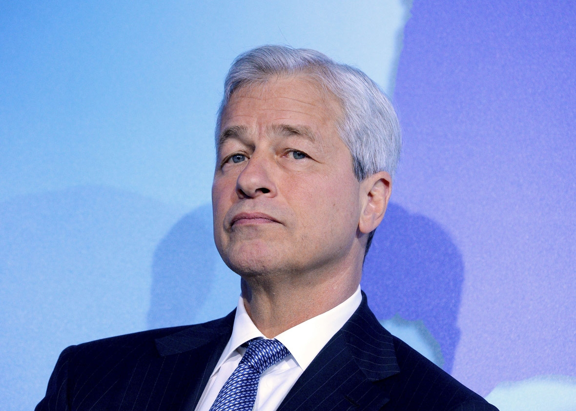 JP Morgan Chase's Chairman and CEO Jamie Dimon