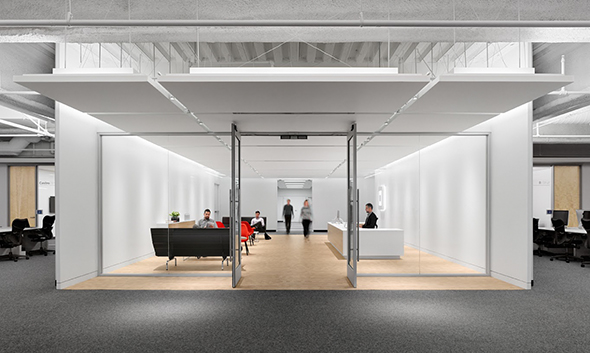 Open plan offices the new trend in workplace design for Office design trends articles