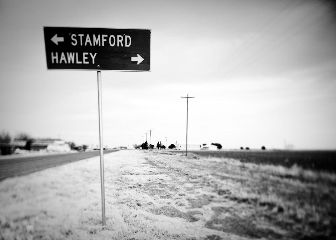 Long highway in Texas, 2009