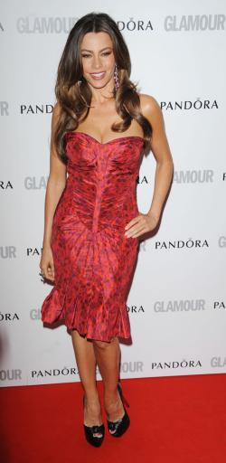Sofia Vergara attends Glamour Women of the Year Awards 2012 in May.