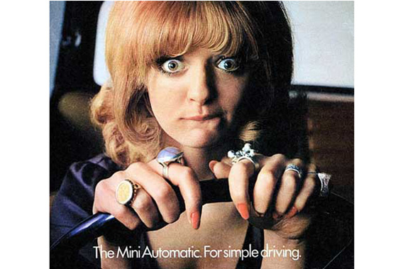 Mini Automatic 1970s ad.