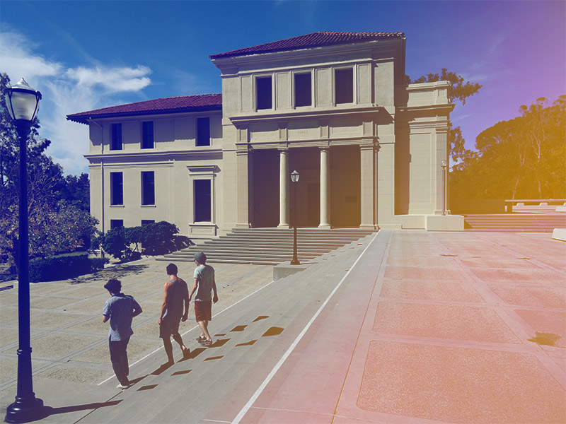 Occidental College, Johnson Hall