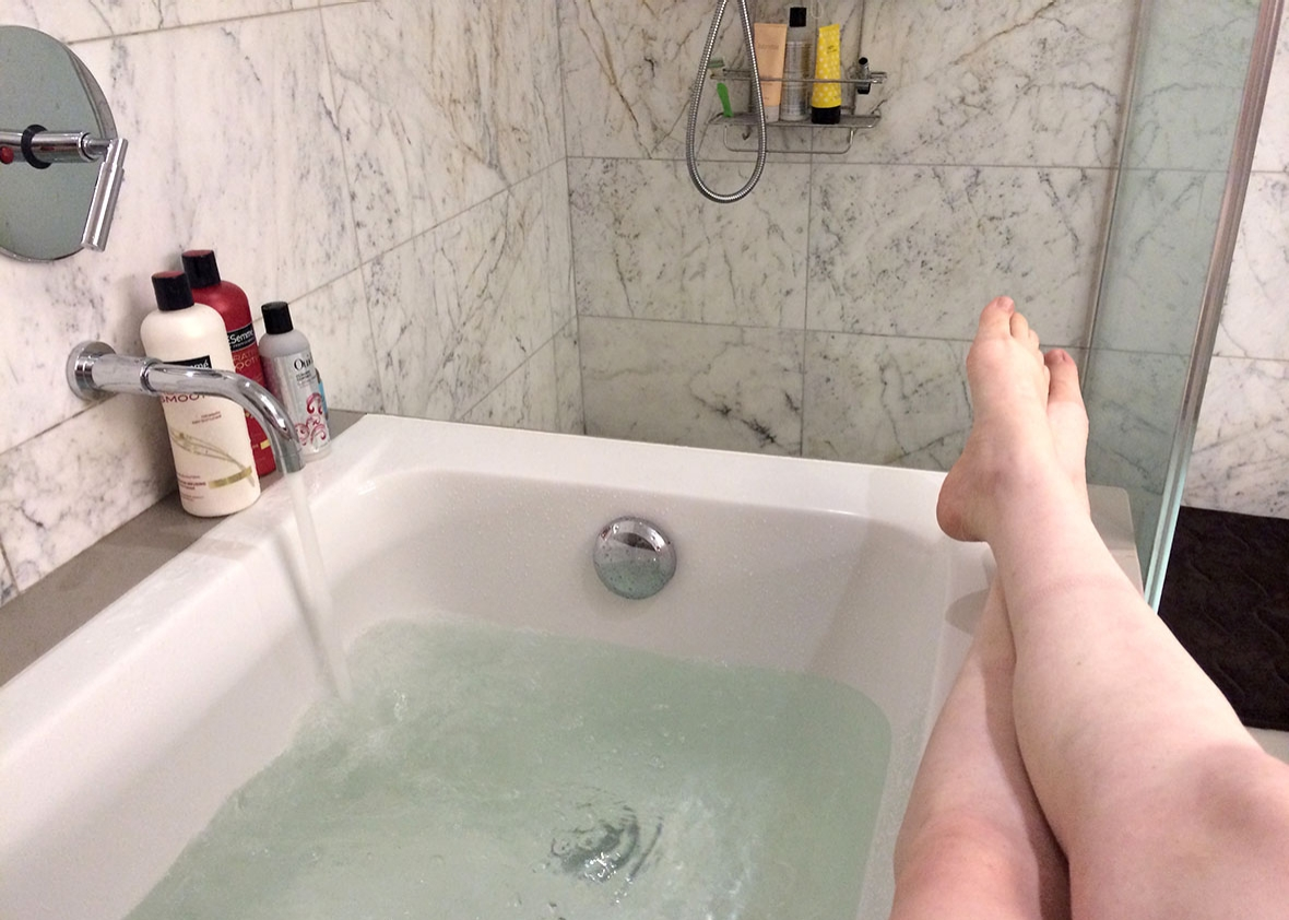 Baths are better than showers: A manifesto.