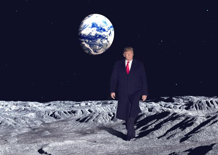 Trump needs private space companies to return to the moon ...