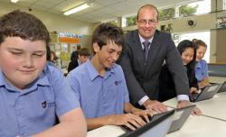 Steve Martin is head of junior science at Howick College